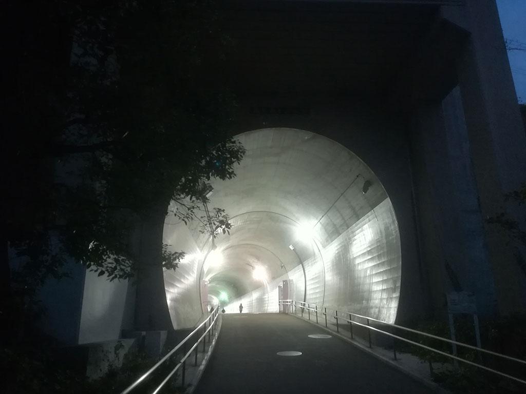 高島山トンネル
