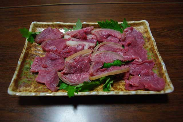 山羊料理美咲 刺身