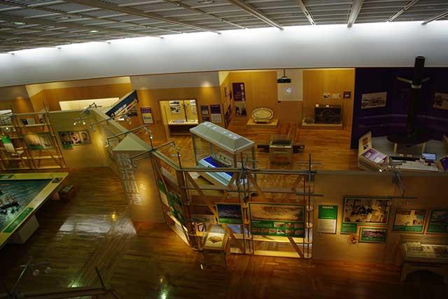 横浜みなと博物館館内