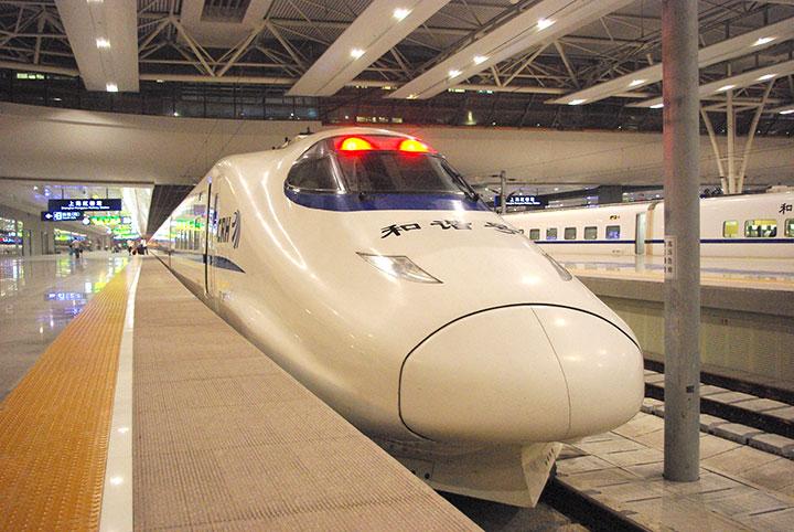 上海発北京行き