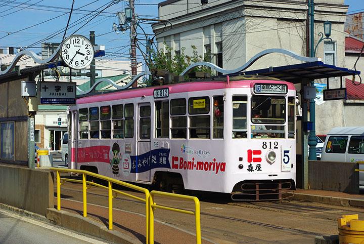 函館市電812号車