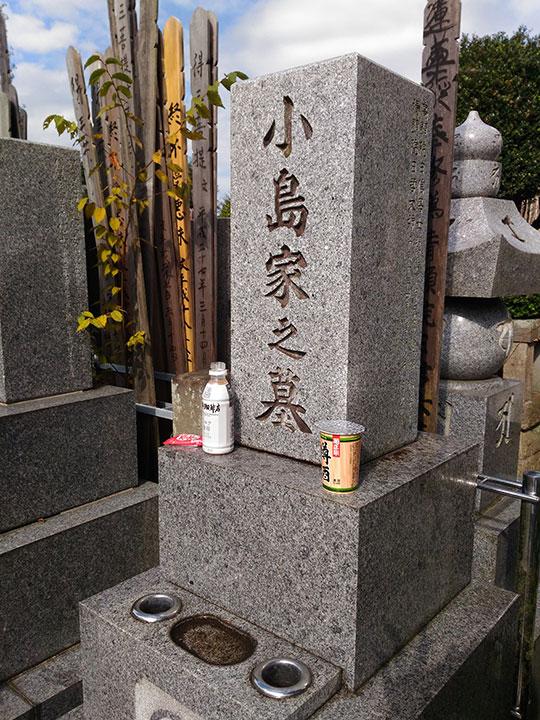 小島家の墓