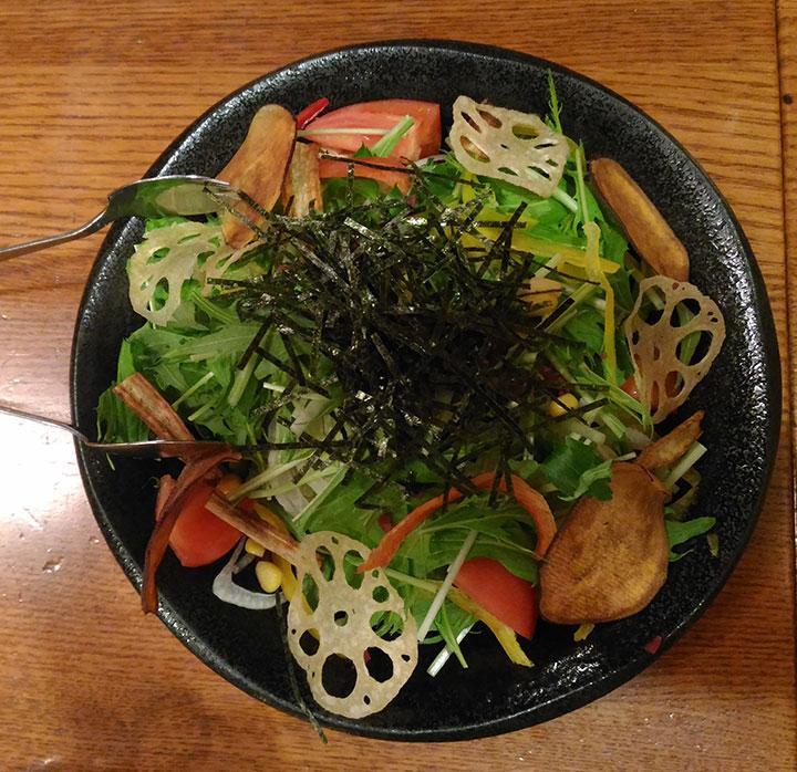 15品目のサラダ
